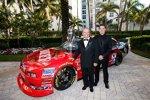 Jack Roush und Ricky Stenhouse
