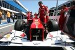 Auto von Felipe Massa (Ferrari)