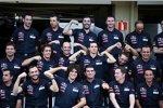 Jahres-Gruppenfoto von Toro Rosso