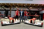 Fernando Alonso und Felipe Massa (Ferrari)