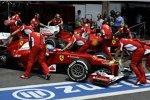 Fernando Alonso und und Felipe Massa (Ferrari)