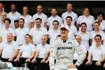 Abschied von Michael Schumacher (Mercedes)