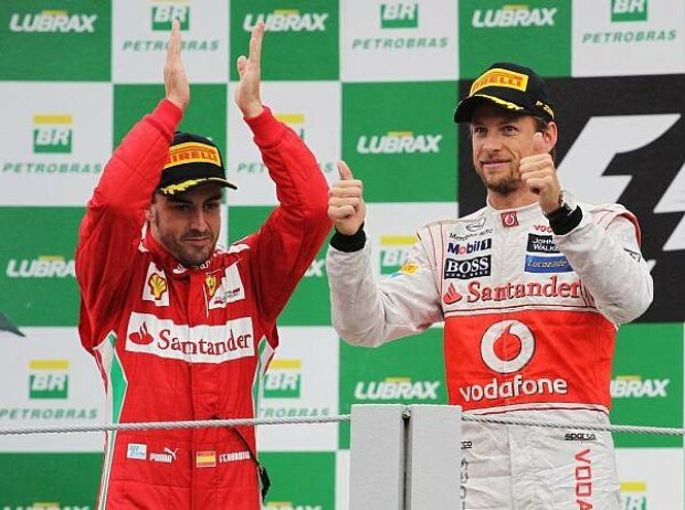 Fernando Alonso, Jenson Button