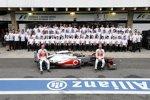 McLaren-Teamfoto 2012