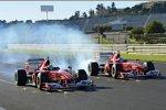 Formel-1-Demofahrt