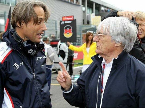 Adam Parr und Bernie Ecclestone