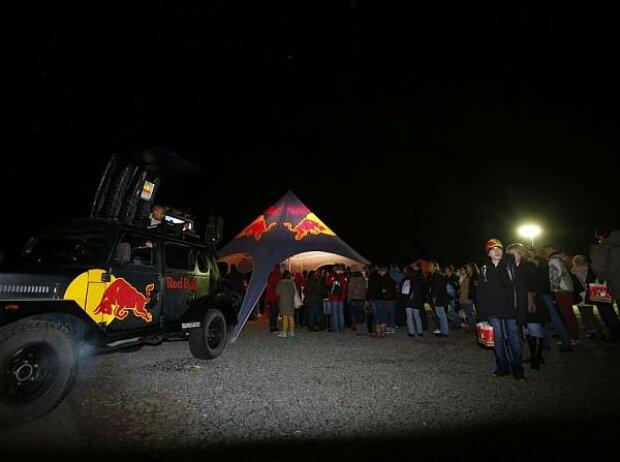 Vettel-Fans in Heppenheim