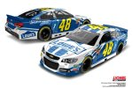 Jimmie Johnson (Hendrick-Chevrolet) in weiß mit Jimmie-Johnson-Foundation