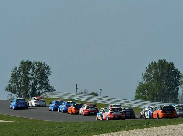 Start am Slovakiaring 2012