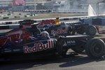 Daniel Ricciardo (Toro Rosso) und David Coulthard (Red Bull)