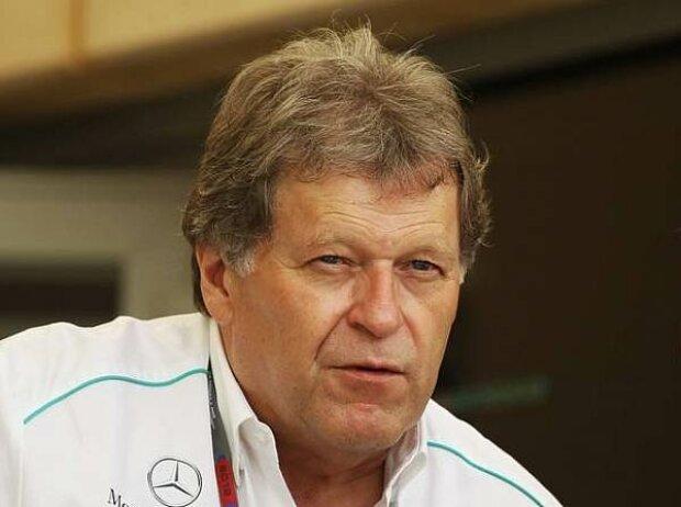 Norbert Haug (Mercedes-Motorsportchef), Jean Todt