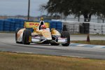 James Hinchcliffe (Andretti) im Auto von Ryan Hunter-Reay