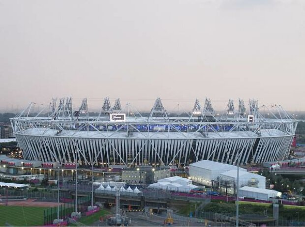 Olympiastadion in London-Stratford