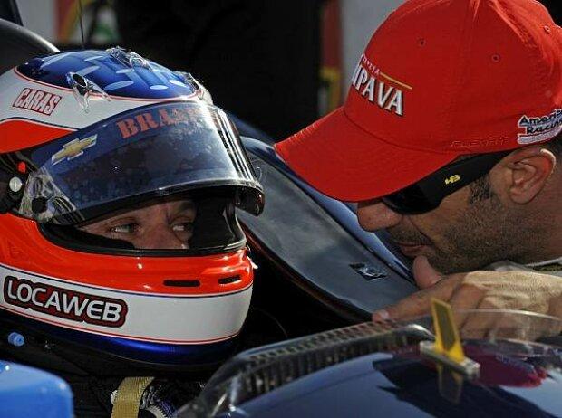 Rubens Barrichello und Tony Kanaan