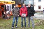 Die Sport1-Crew: Alex Hofmann, Edgar Mielke und Erich Engesser