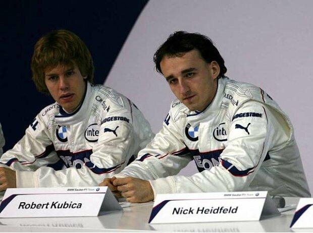 Sebastian Vettel, Robert Kubica