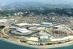 Panorama der Formel-1-Strecke