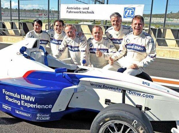 Formel-BMW-Fahren in Valencia