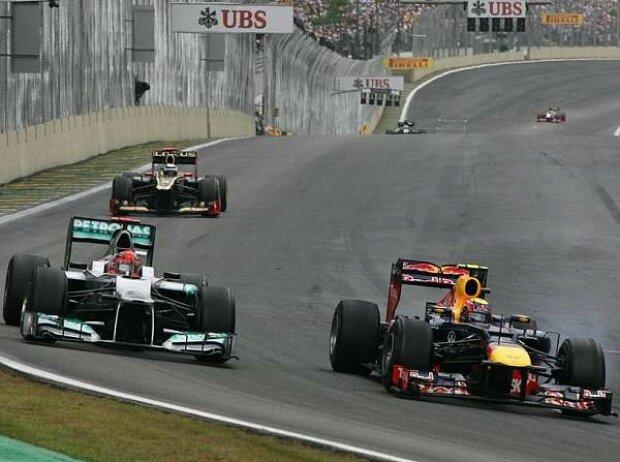 Mark Webber, Michael Schumacher
