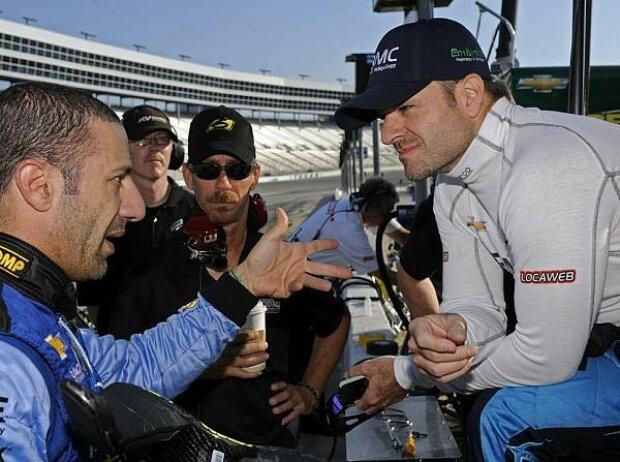 Tony Kanaan, Rubens Barrichello