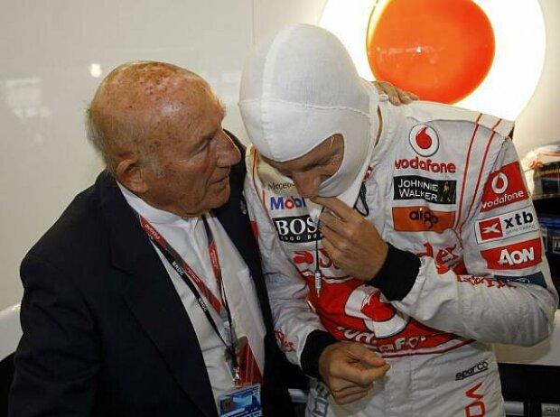 Stirling Moss, Jenson Button