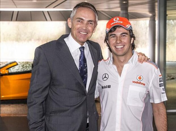 Martin Whitmarsh, Sergio Perez