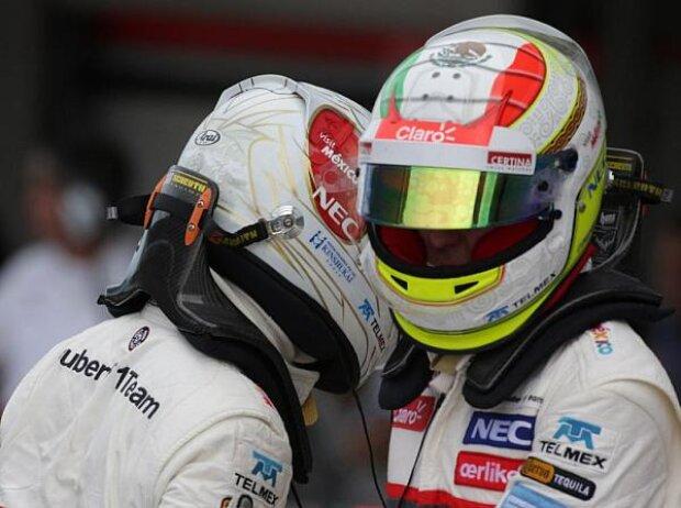 Kamui Kobayashi, Sergio Perez