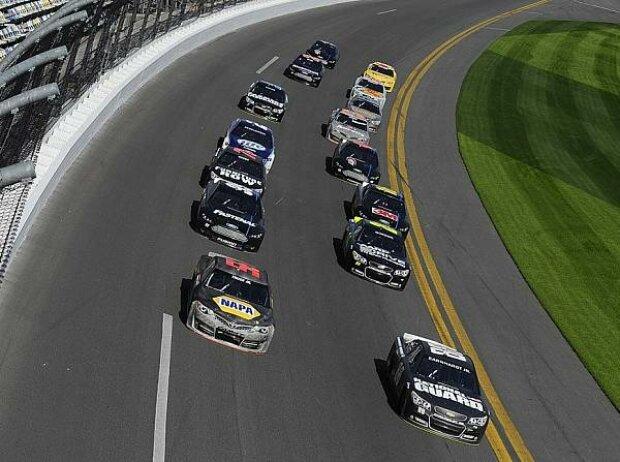 Pack-Racing in Daytona
