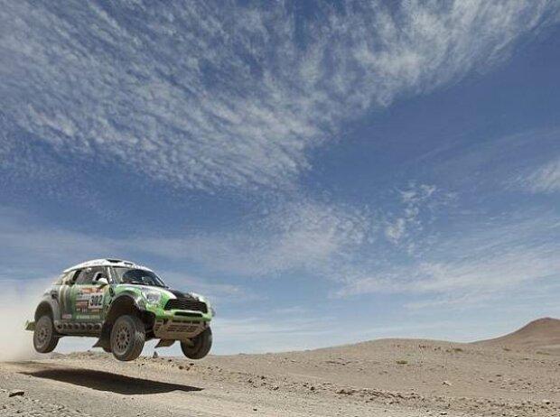Stephane Peterhansel bei der Rallye Dakar 2013