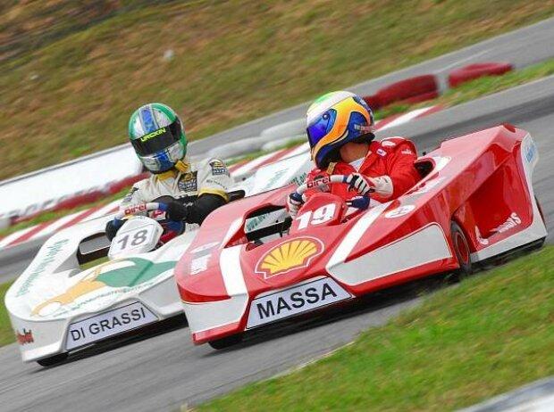 Lucas di Grassi, Felipe Massa