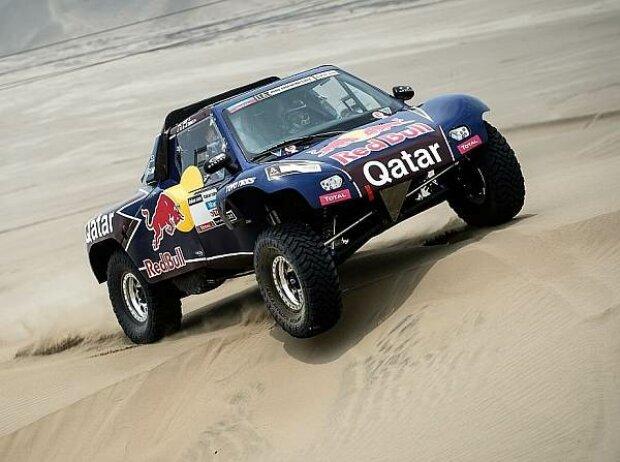 Nasser Al-Attiyah bei der Rallye Dakar 2013