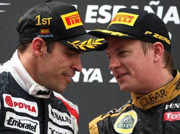 Pastor Maldonado, Kimi Räikkönen