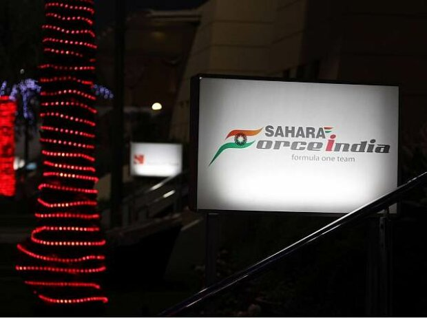 Force-India-Hospitality in Bahrain