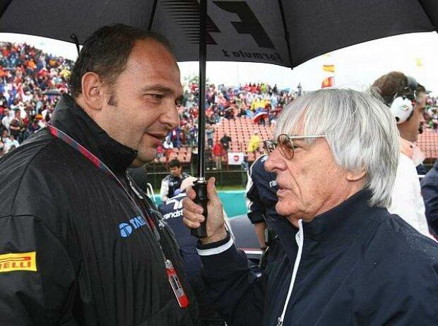 Colin Kolles und Bernie Ecclestone