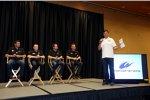 Martin Truex Jr., Mark Martin, Brian Vickers, Clint Bowyer und Michael Waltrip