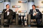 NASCAR-Chef Brian France und NASCAR-Präsident Mike Helton