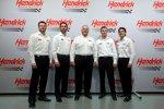 Dale Earnhardt Jr., Jimmie Johnson, Rick Hendrick, Kasey Kahne und Jeff Gordon
