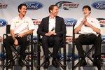 Joey Logano (Penske), Brad Keselowski (Penske) und Youngster Ryan Blaney (Penske)
