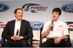 Brad Keselowski und sein junger Teamkollege Ryan Blaney