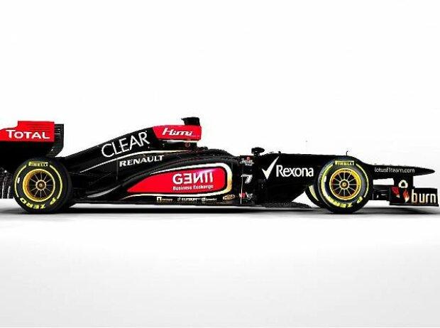 Präsentation des Lotus-Renault E21