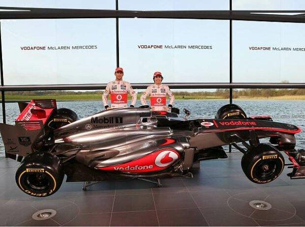 Jenson Button, Sergio Perez, MP4-28