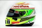 Helm von Sergio Perez (McLaren)