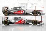 Vergleich alter vs. neuer McLaren: So unterscheiden sich der MP4-27 und der neue MP4-28