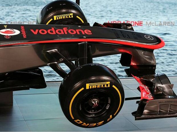 Nase des McLaren-Mercedes MP4-28