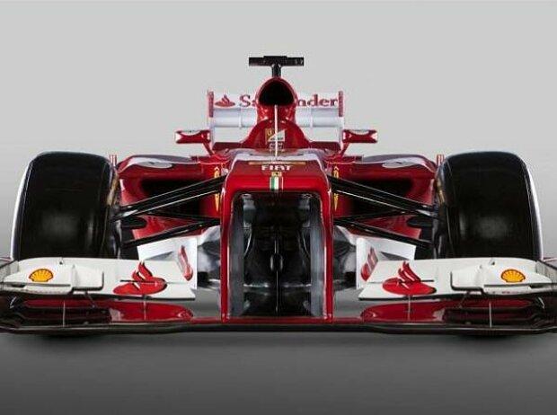 Präsentation des Ferrari F138