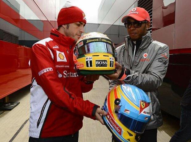 Alonso, Hamilton