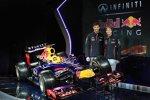 Mark Webber (Red Bull) und Sebastian Vettel (Red Bull) mit dem RB9