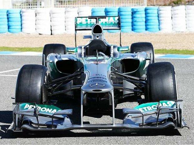 Präsentation des Mercedes F1 W04