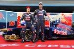 Daniel Ricciardo (Toro Rosso) und Jean-Eric Vergne (Toro Rosso)