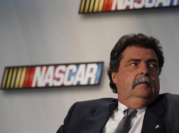 NASCAR Präsident Mike Helton